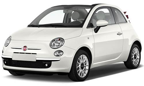 Fiat 500 Cabrio Lefkada Car Rental